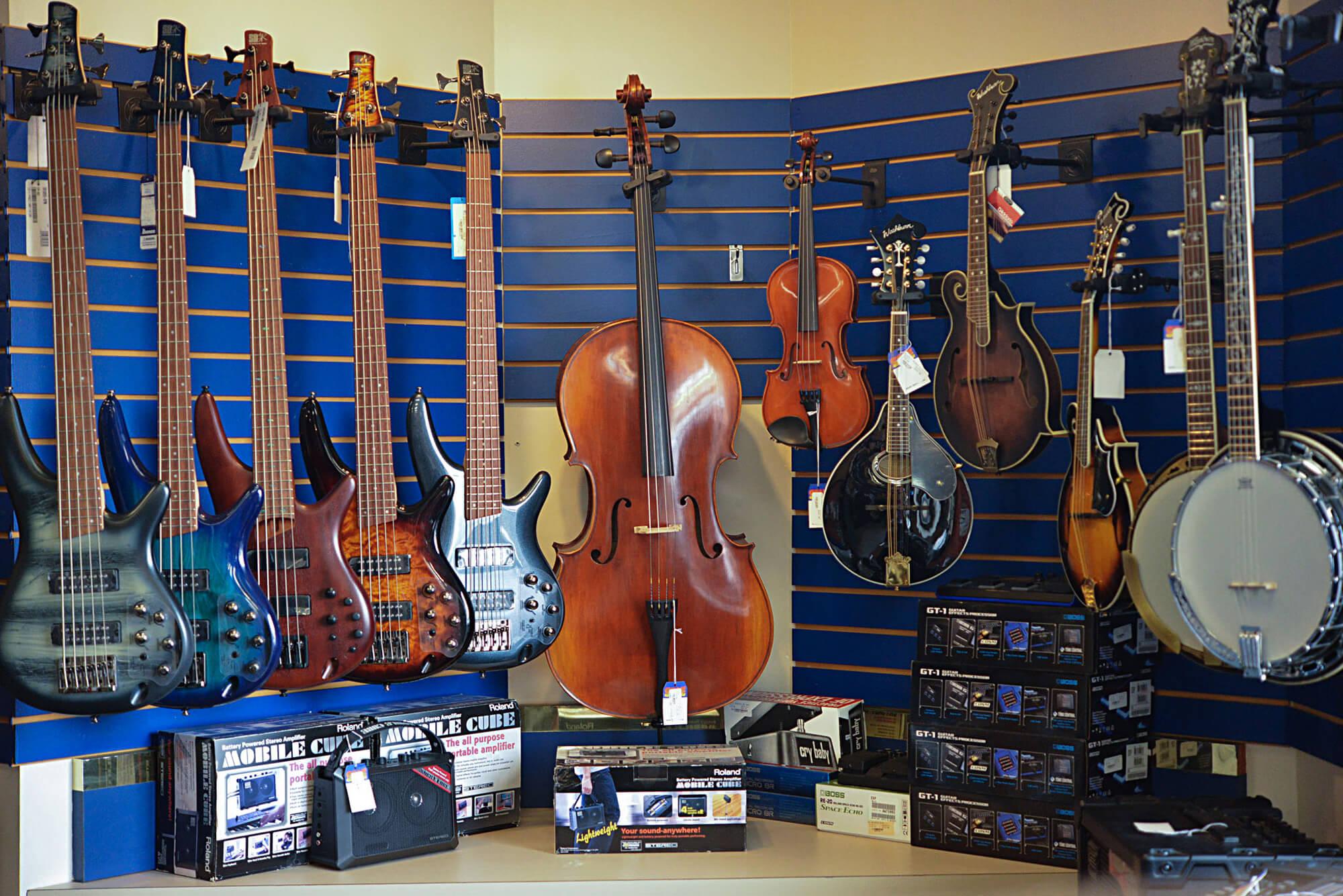 Banjos and Mandolins